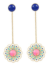 Load image into Gallery viewer, Illuminate Lapis Earrings