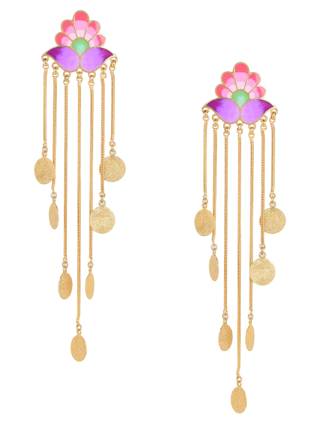 Paradise falls earrings