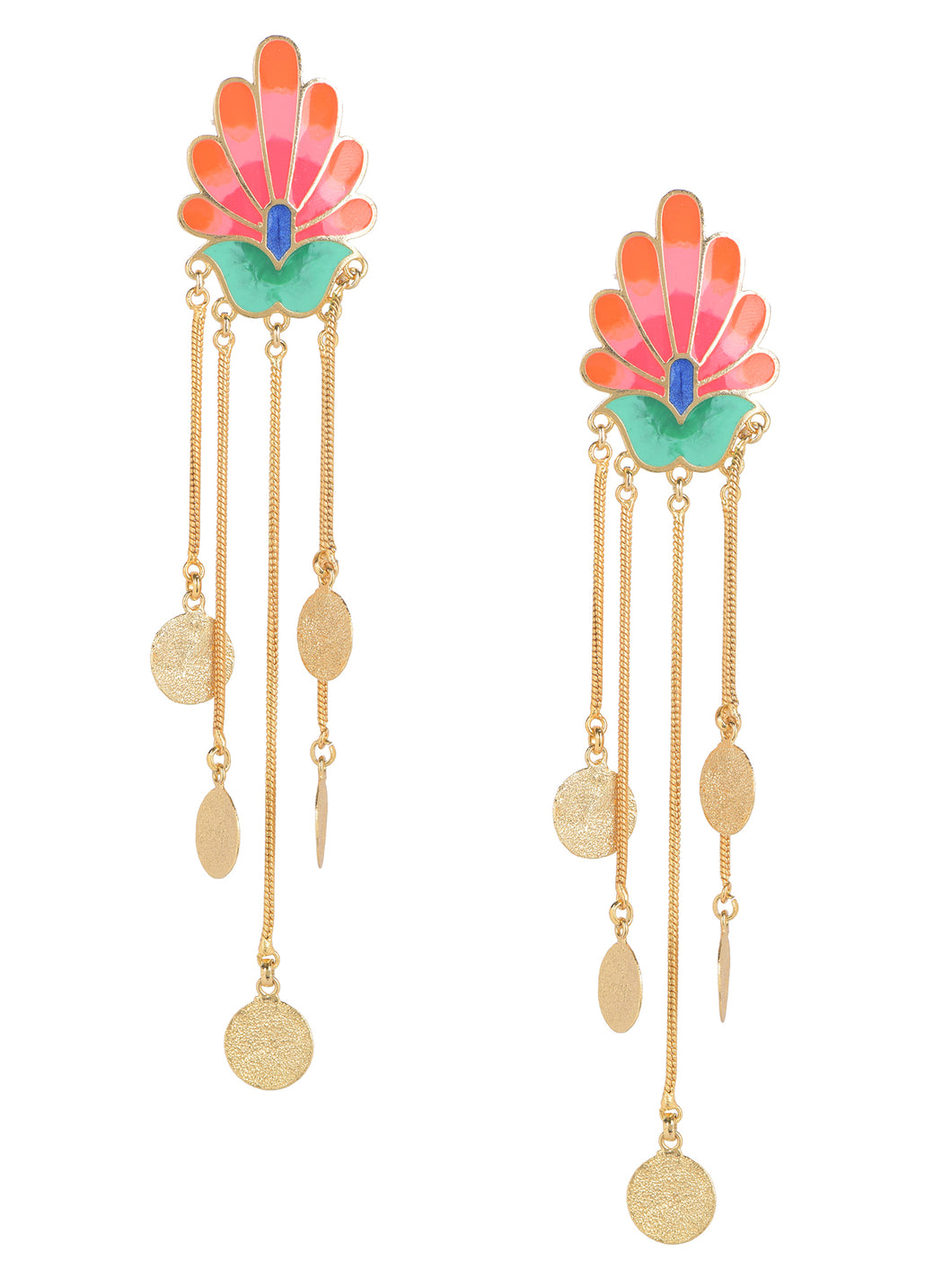 Royal bloom earrings