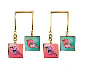 Chirpy bird danglers