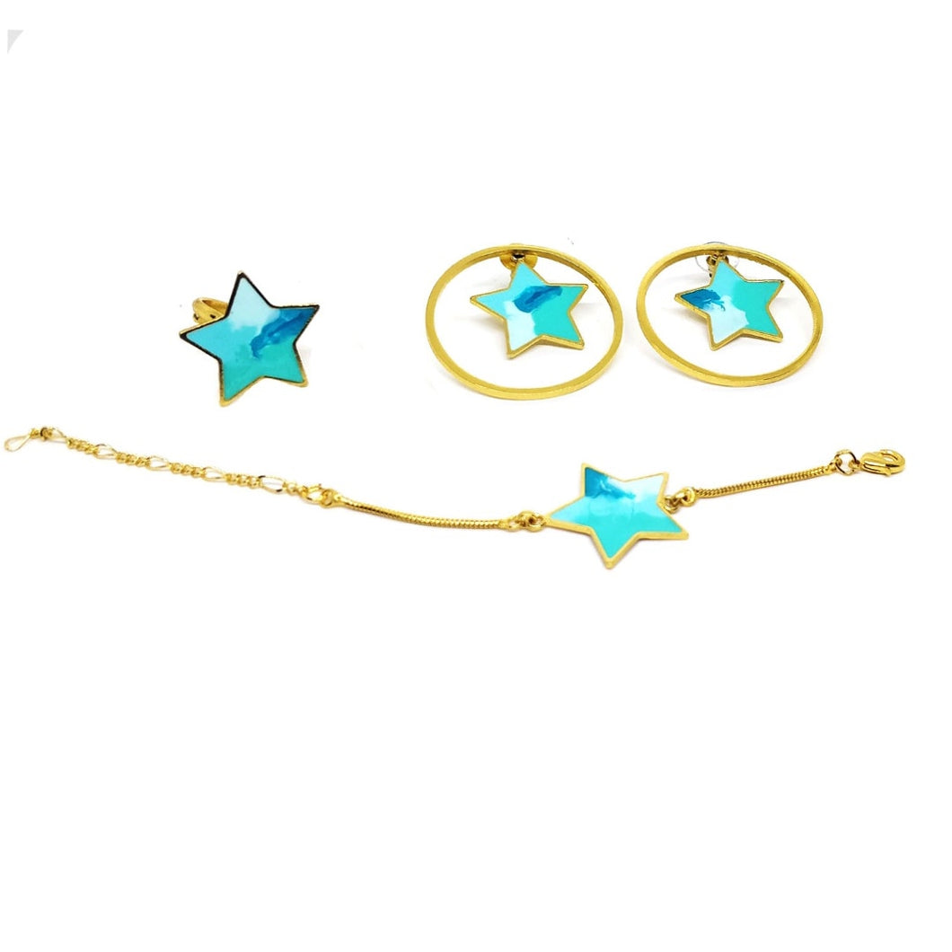 Blue stars gift bundle