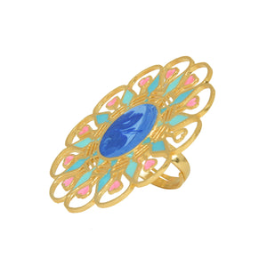 Illuminate Ring - Dark Blue