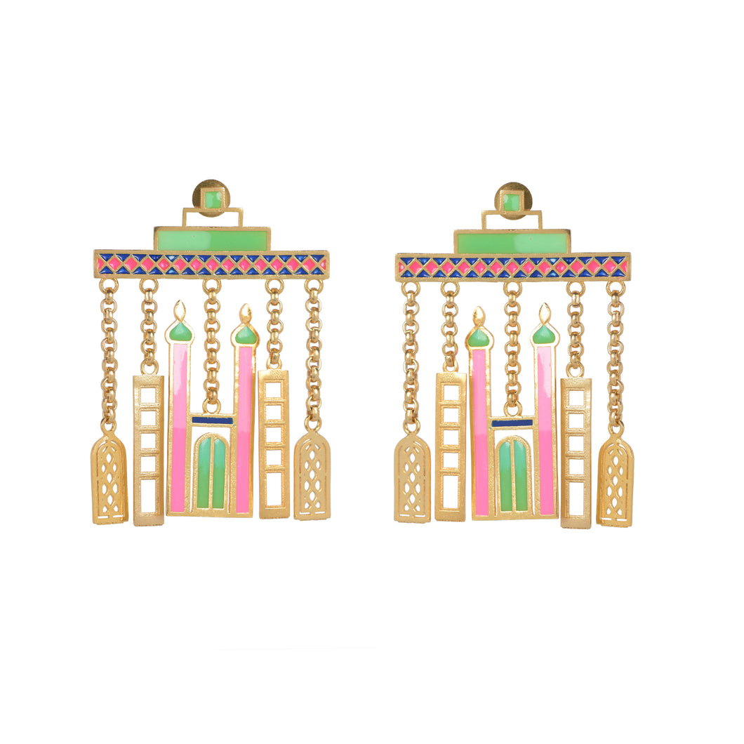 The grand skyline earrings