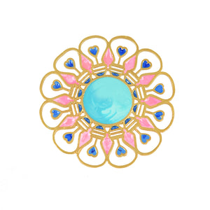 Illuminate Ring - Turquoise