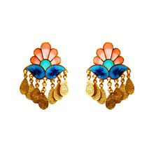 Load image into Gallery viewer, Paisley earrings