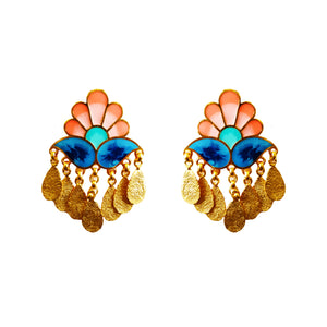 Paisley earrings