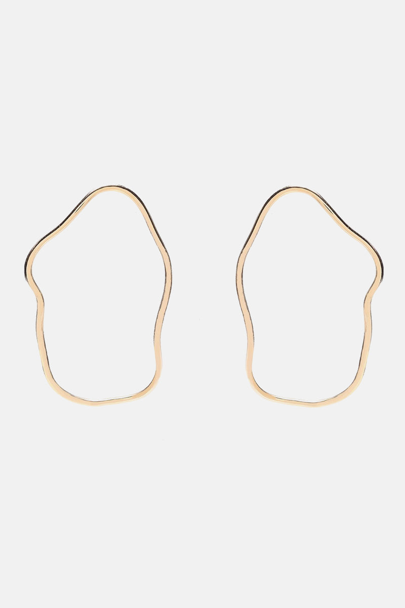 Aalto Outline Earrings - Large - Bing Bang Jewelry NYC