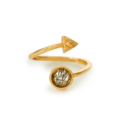 Air Amulet Ring - Bing Bang Jewelry NYC