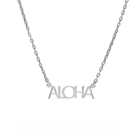 ALOHA Necklace - Bing Bang NYC - 2