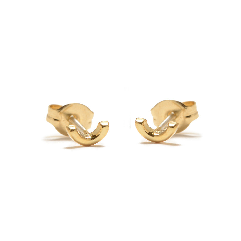 ✨14k Arc Stud - Bing Bang Jewelry NYC