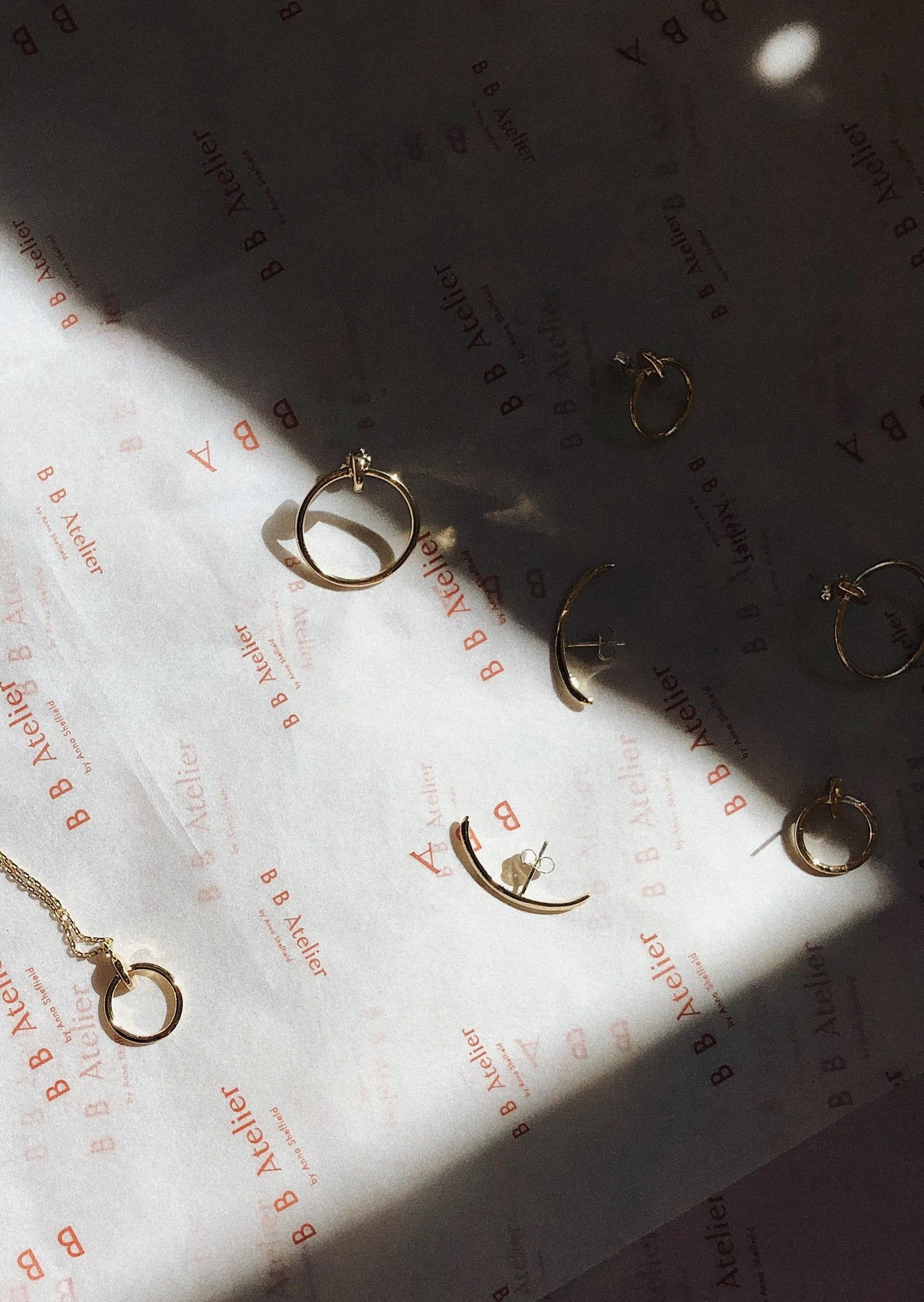 Modernist Suspension Earrings - Bing Bang NYC