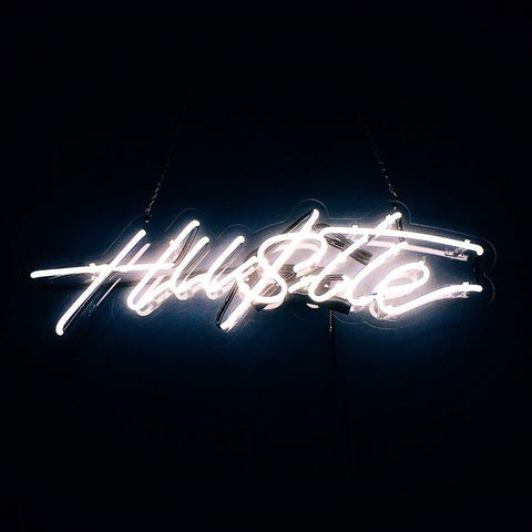 HUSTLE Neon Art Sign - Bing Bang Jewelry NYC