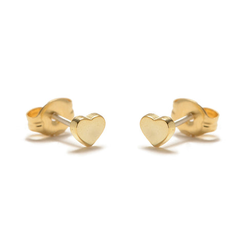 Baby Heart Studs - Bing Bang Jewelry NYC