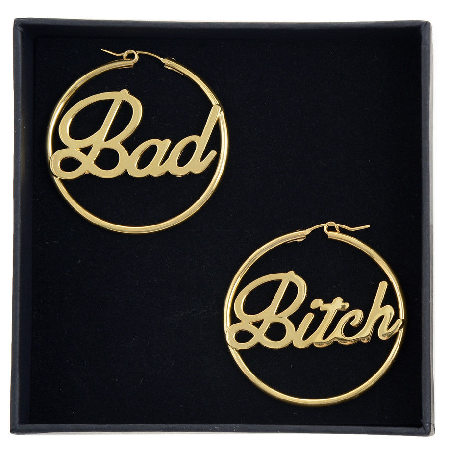 Bad Bitch Hoops (BB x Me & You) - Bing Bang NYC - 6