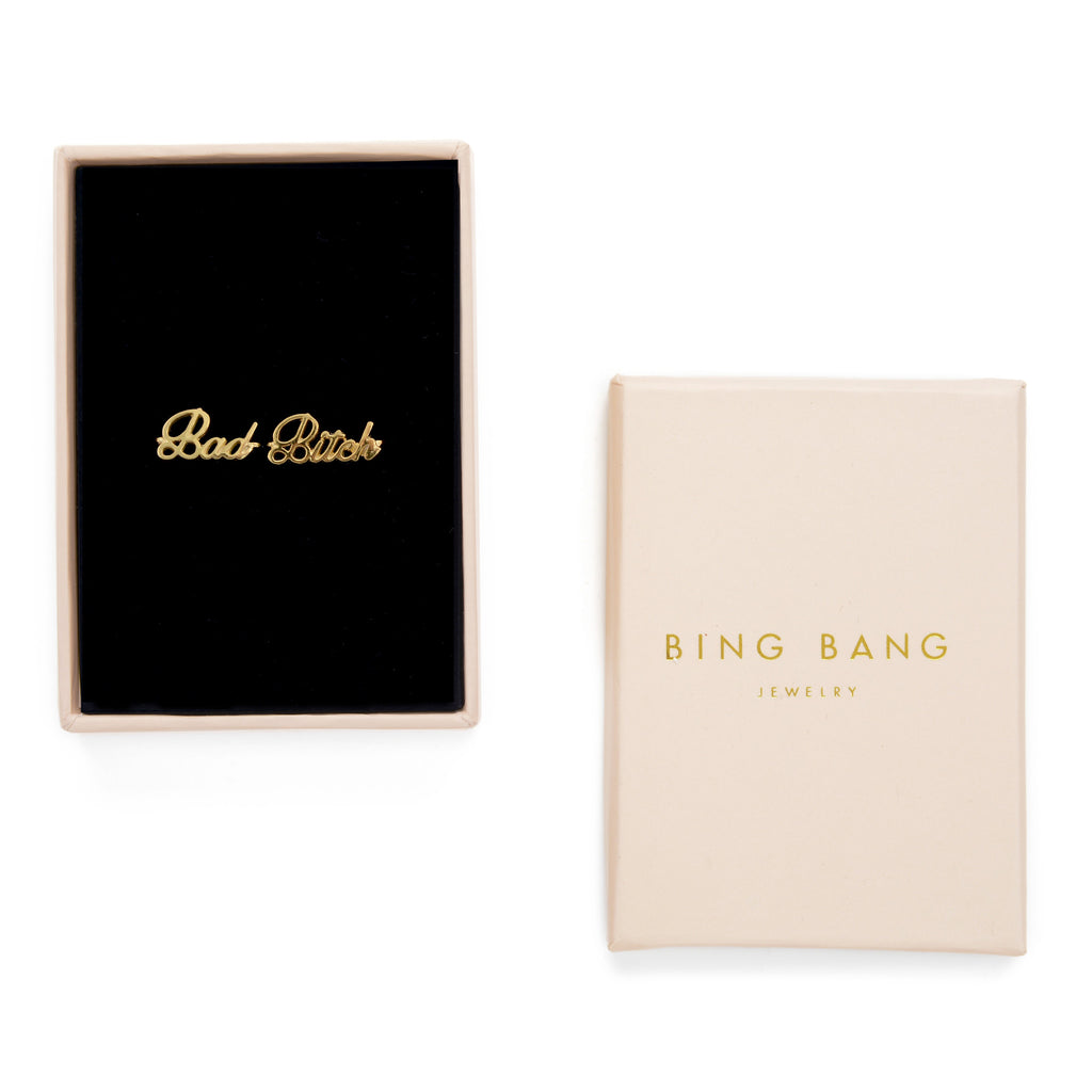 Bad Bitch Ring Set (BB x Me & You) - Bing Bang NYC - 5