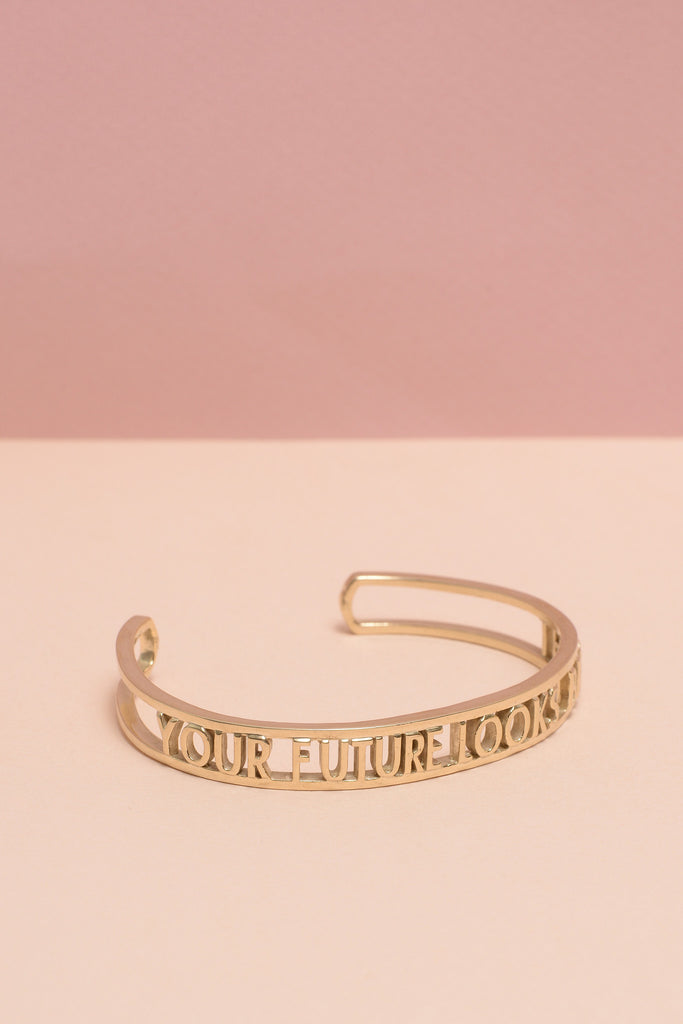 Your Future Looks Bright Cuff - Bing Bang NYC - 6