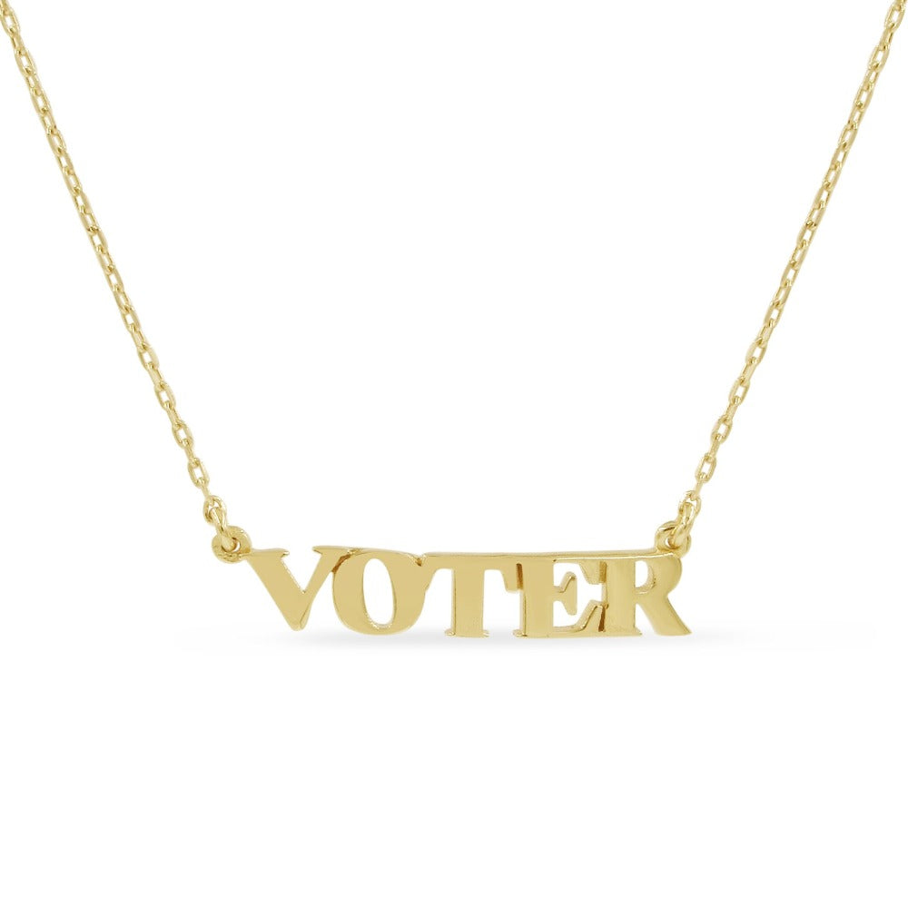 Voter Necklace - Bing Bang Jewelry NYC