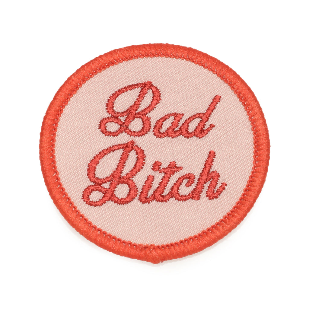 Bad Bitch Circle Patch (BB x Me & You) - Bing Bang Jewelry NYC