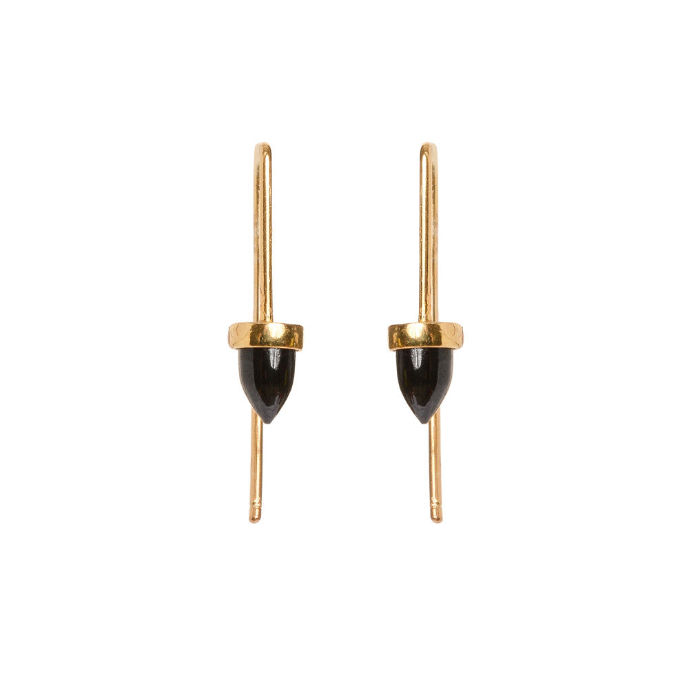 Zenith Threader Earrings - Short - Bing Bang Jewelry NYC