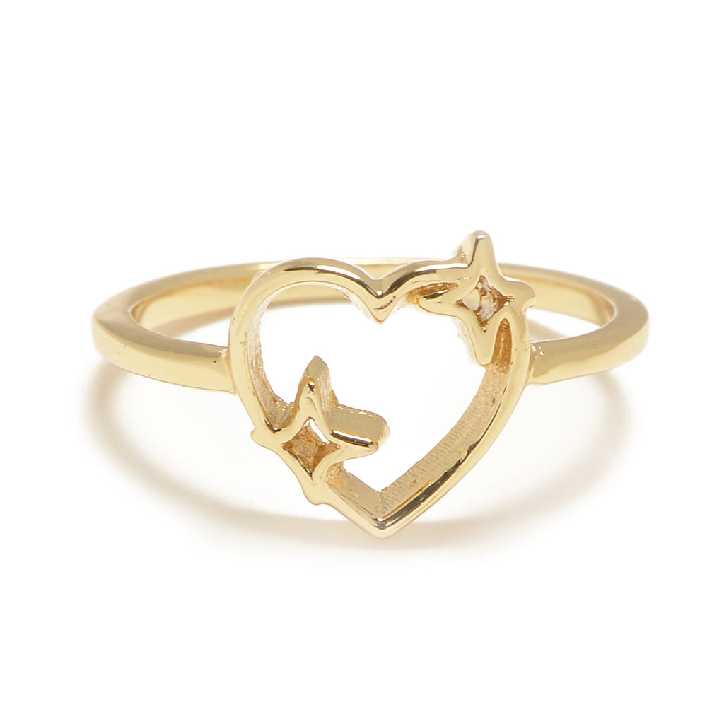 Sparkle Heart Set (Necklace & Ring) - Bing Bang NYC - 2