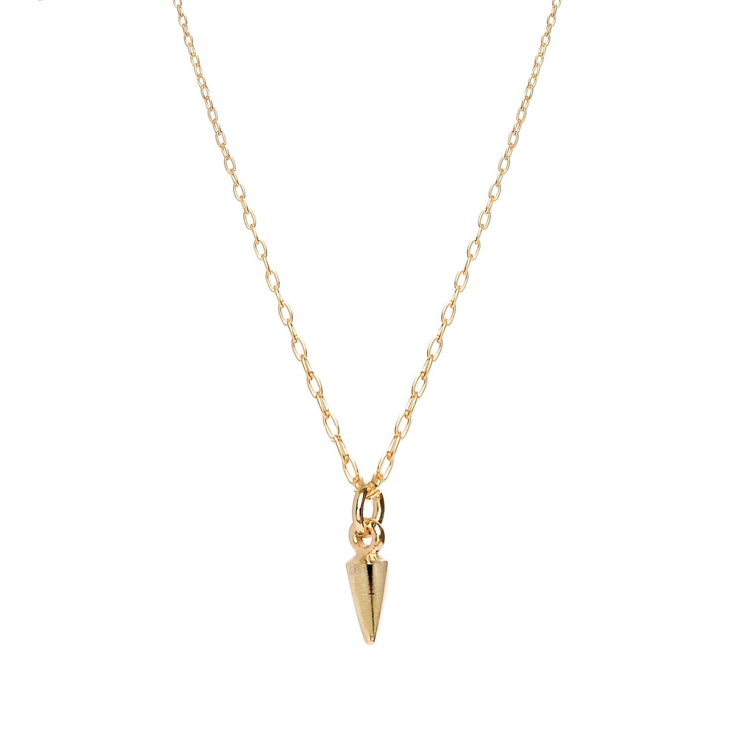 Tiny Bullet Necklace - Bing Bang Jewelry NYC