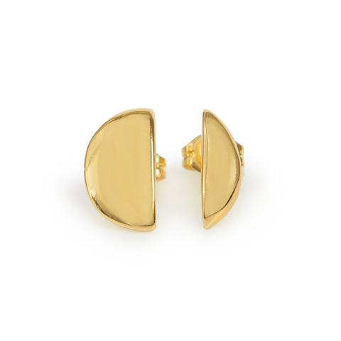Full Moon Studs - Bing Bang Jewelry NYC