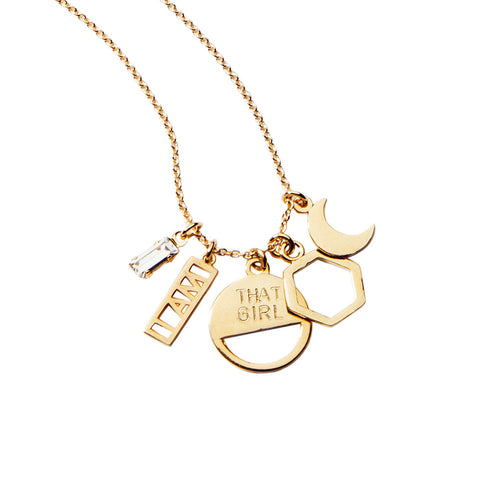 'I AM THAT GIRL' Necklace (Collaboration) - Bing Bang NYC - 1