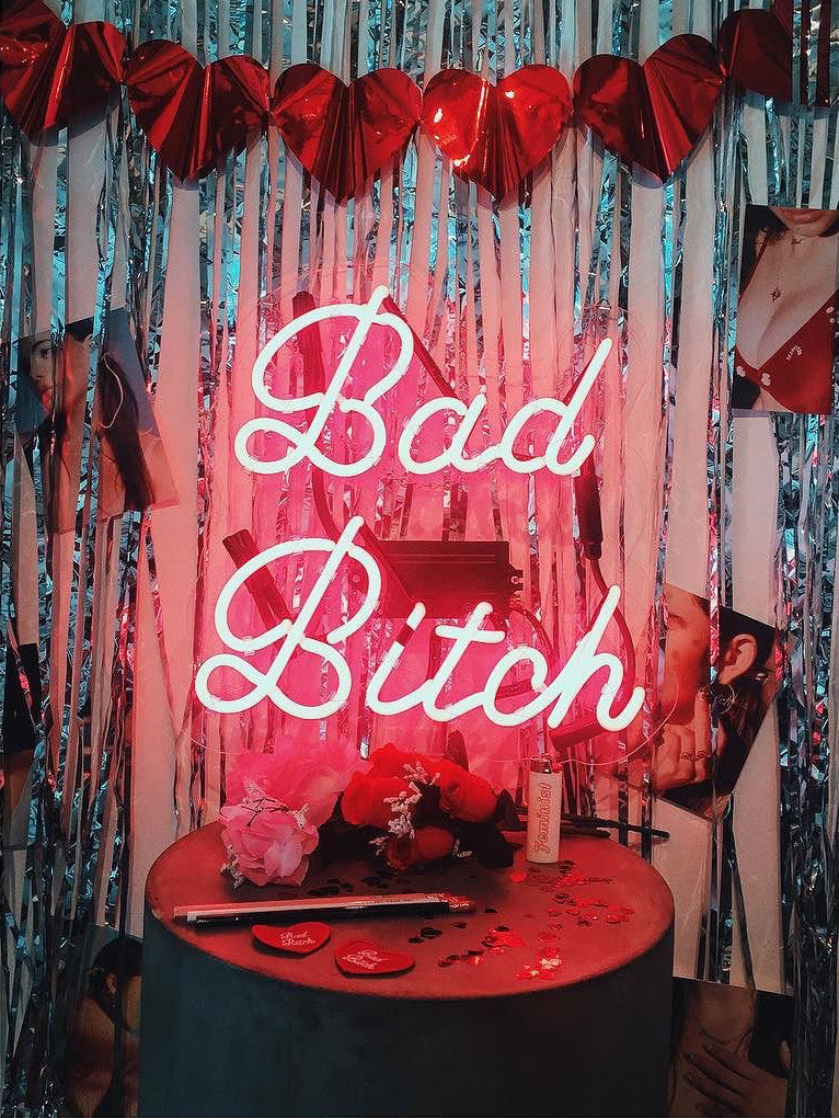 Bad Bitch Neon Art Sign - Bing Bang Jewelry NYC