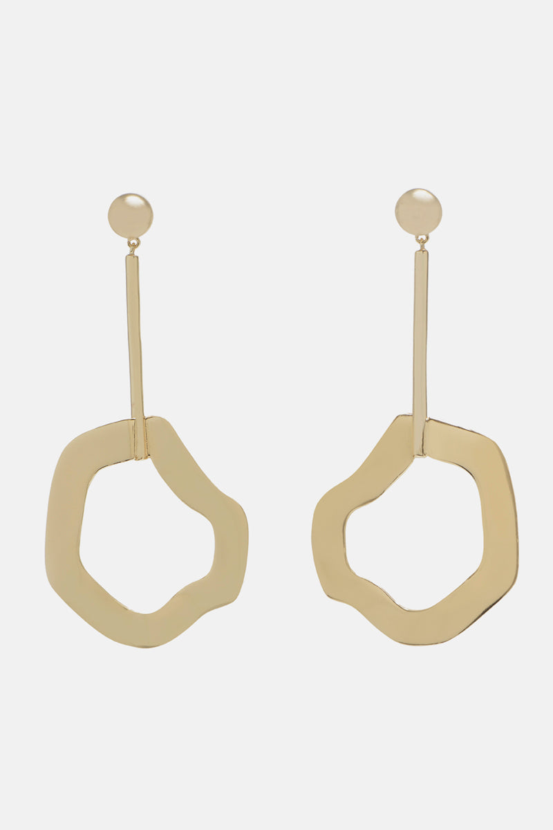 Brushstroke Drop Earrings - Bing Bang Jewelry NYC