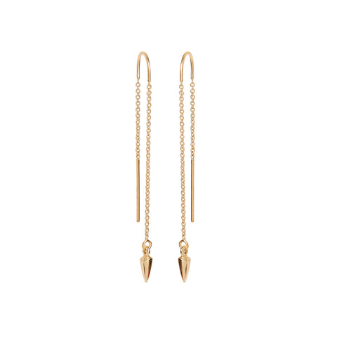 Bullet Threader Earrings - Bing Bang Jewelry NYC