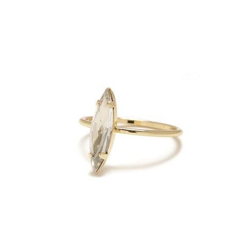 Crystal Shard Ring - Clear Crystal - Bing Bang NYC - 1