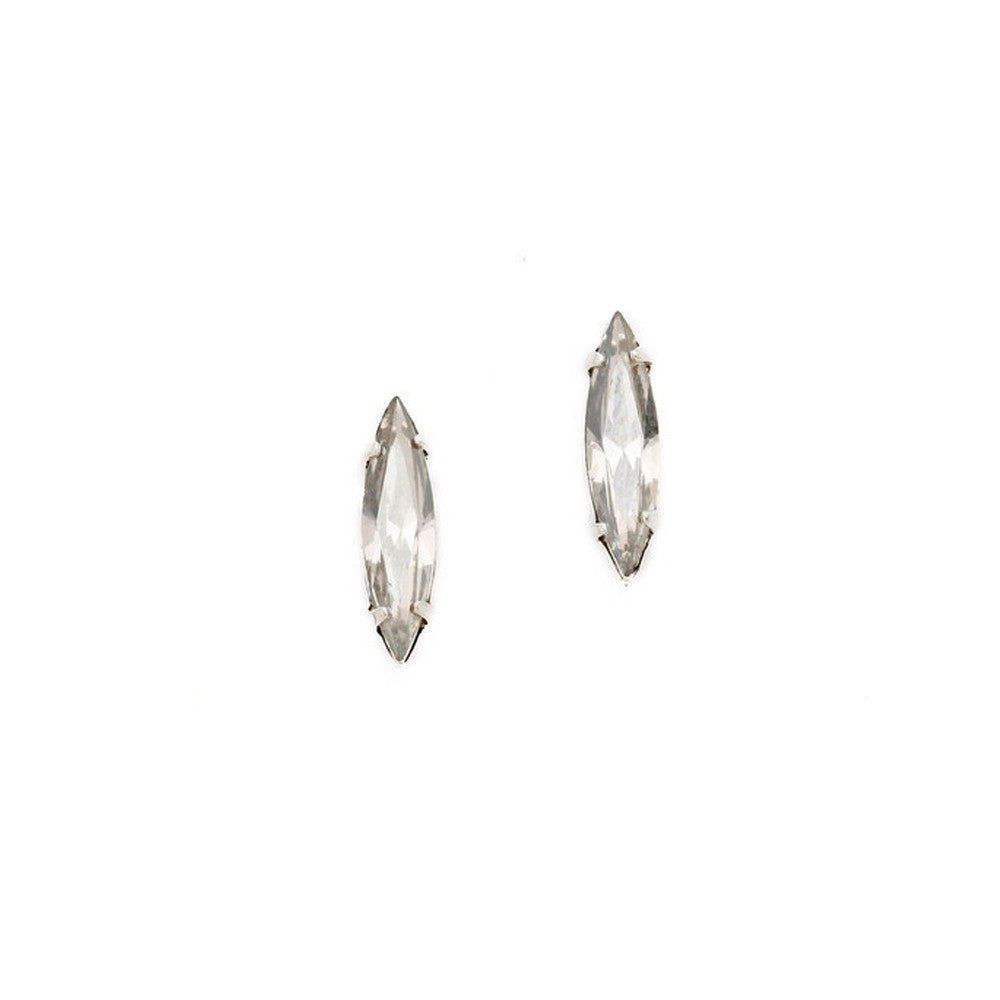 Crystal Shard Studs - Clear Crystal - Bing Bang NYC - 2