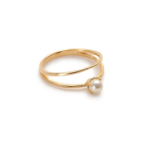 Pearl Illusion Ring - Bing Bang NYC