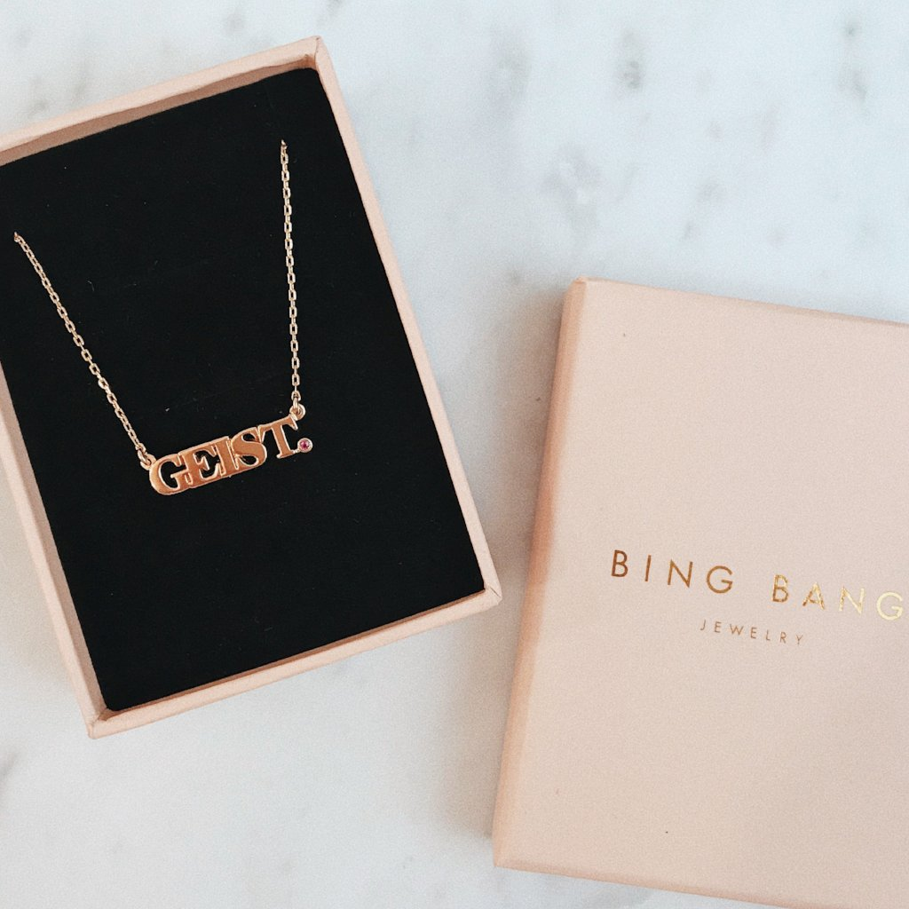 14K✨ Custom Nameplate - BLOCK - Bing Bang Jewelry NYC