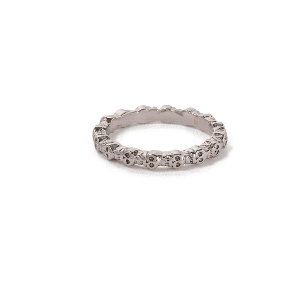 Eternity Skull Ring - Bing Bang Jewelry NYC