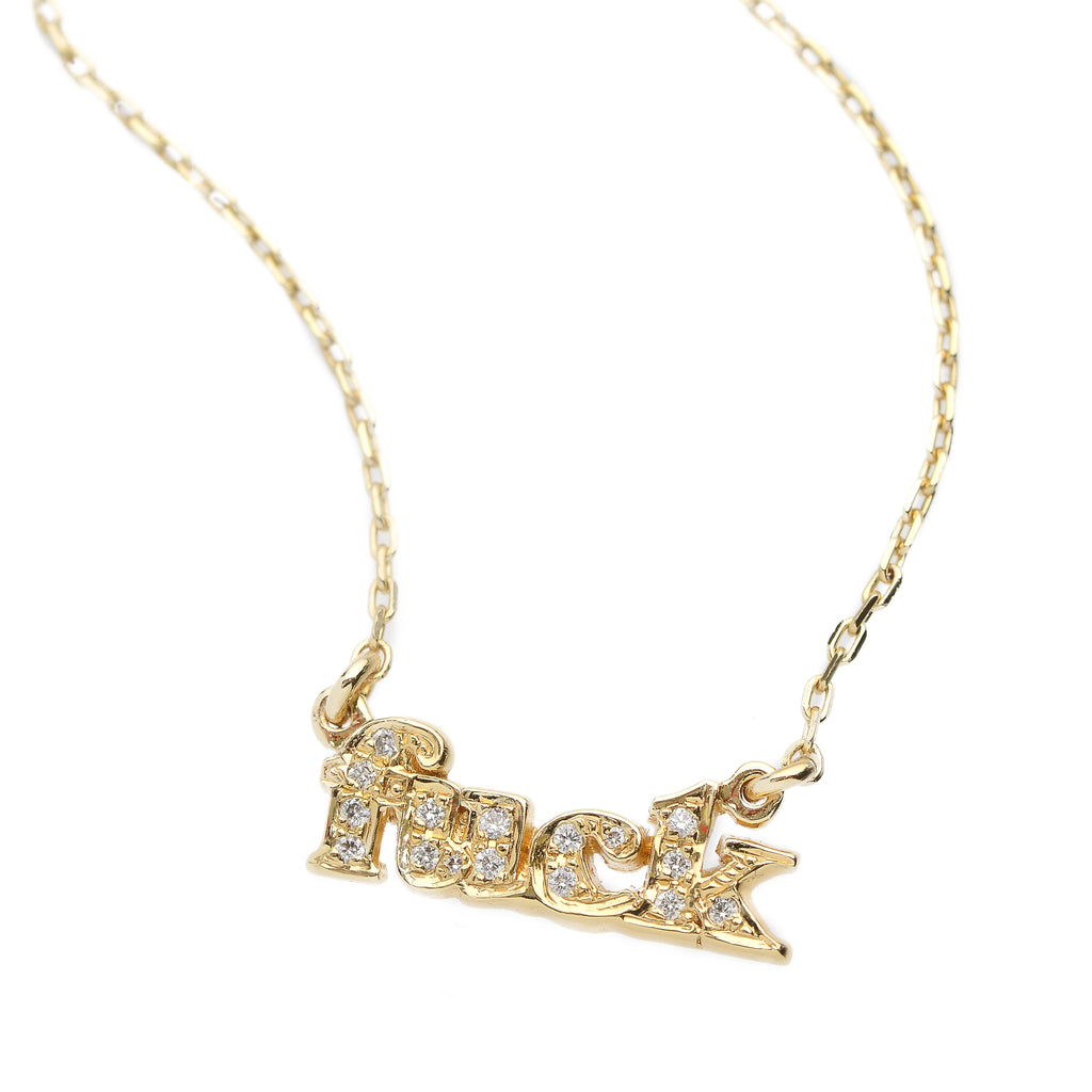 ✨14k Fuck Necklace - Bing Bang Jewelry NYC