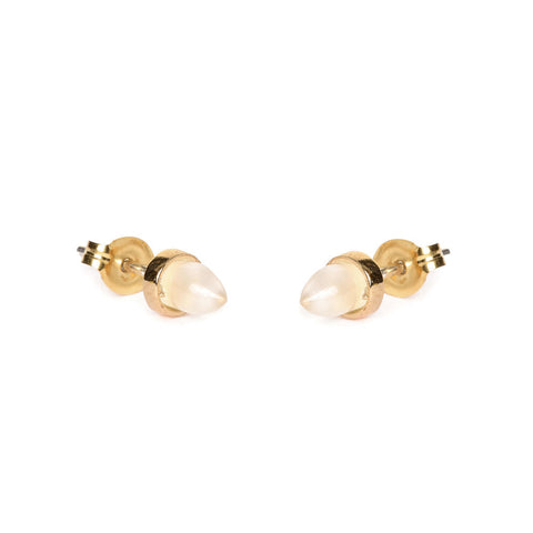 Gemstone Bullet  Studs - Bing Bang NYC - 1