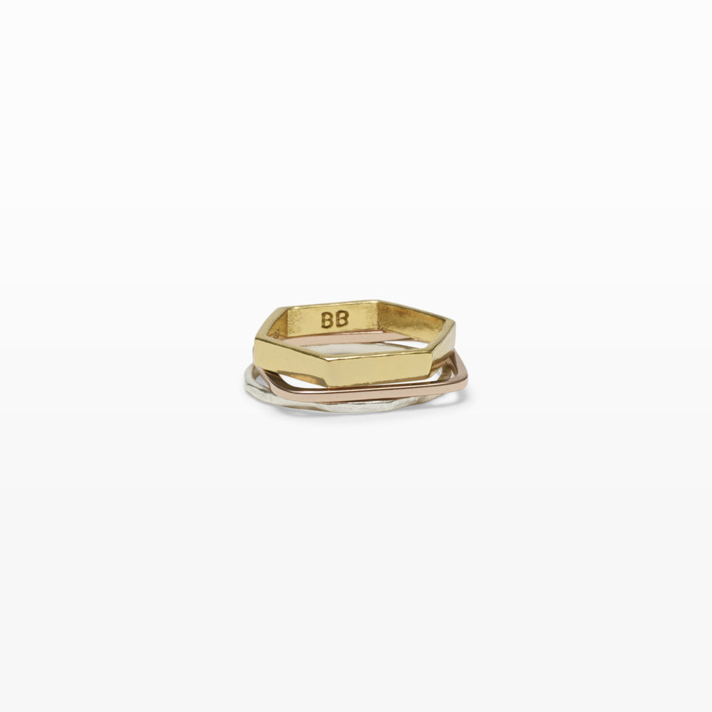 Geometric Ring Set - Bing Bang NYC - 6