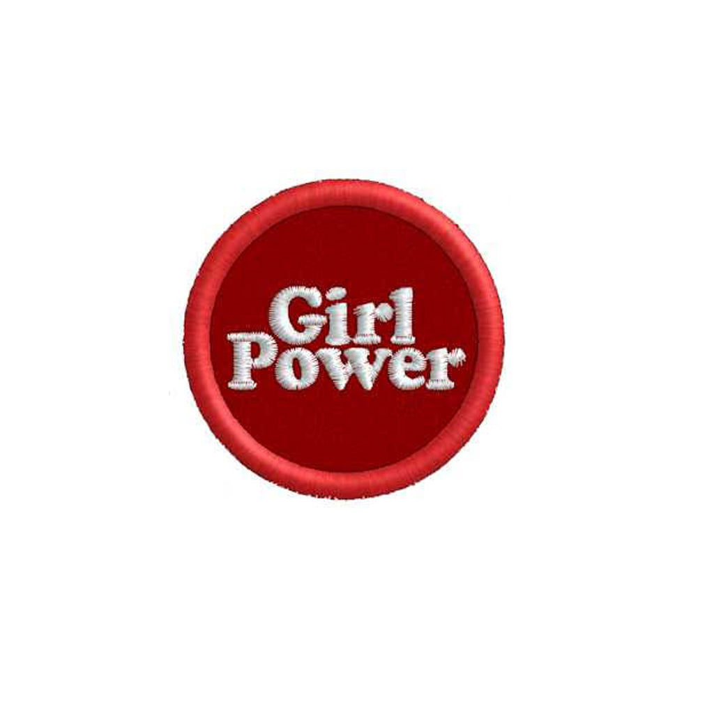 Girl Power Circle Patch - Bing Bang NYC