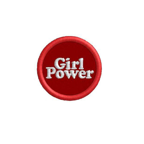 Girl Power Circle Patch