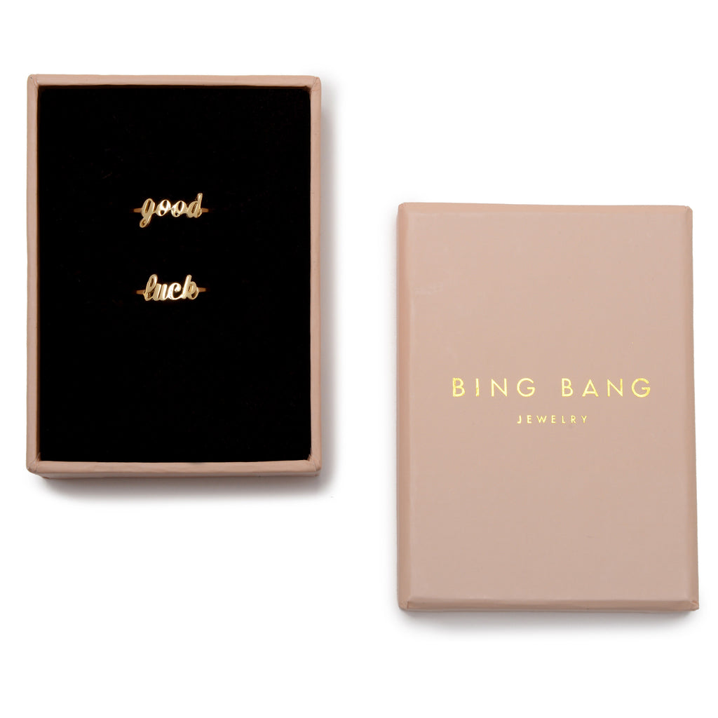 Good Luck Ring Set (BB x Ban.do) - Bing Bang Jewelry NYC