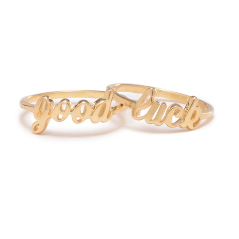 Good Luck Ring Set - Bing Bang NYC - 1