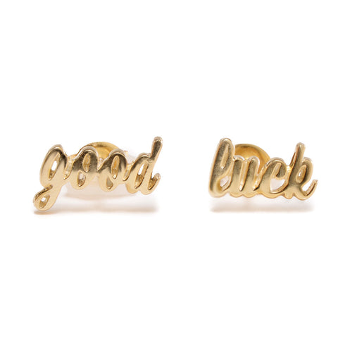 Good Luck Studs - Bing Bang Jewelry NYC