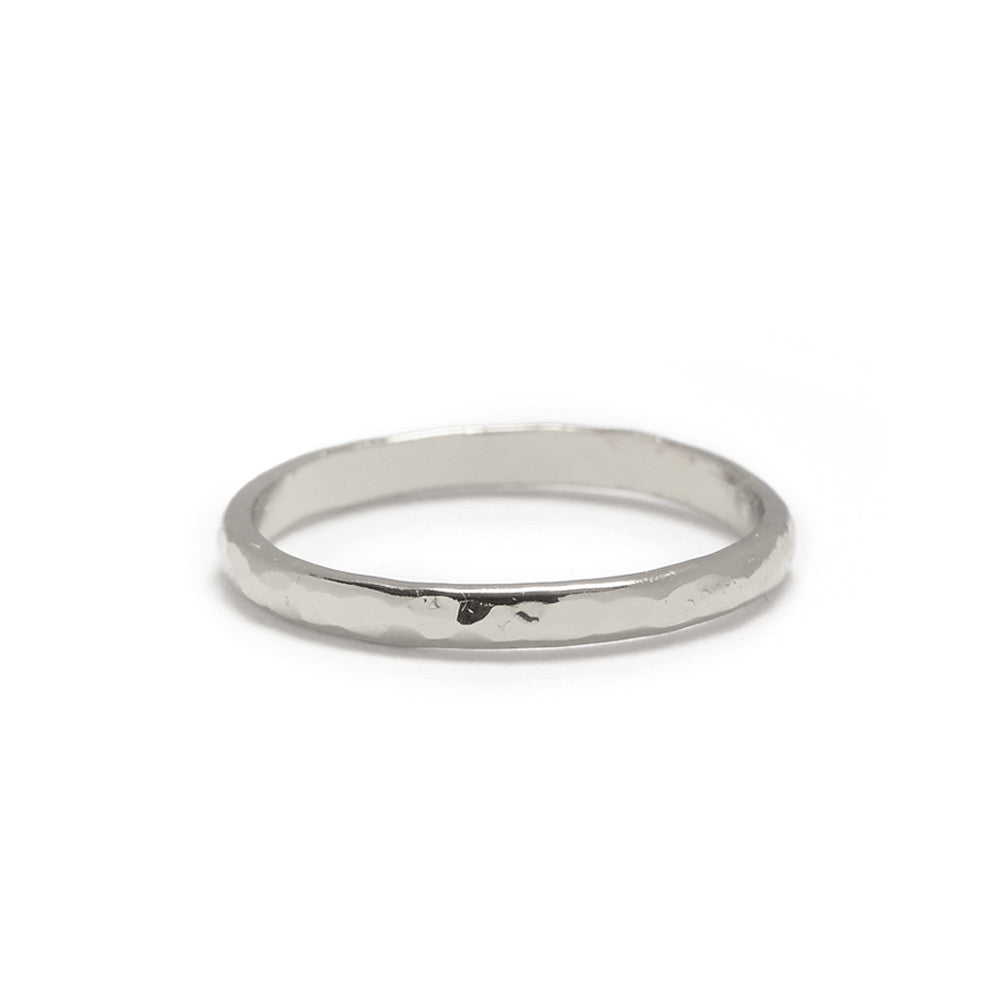 Classic Hammered Band - Bing Bang Jewelry NYC