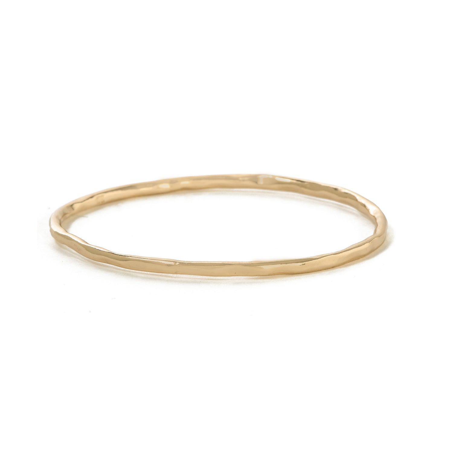 Classic Hammered Bangle - Bing Bang NYC