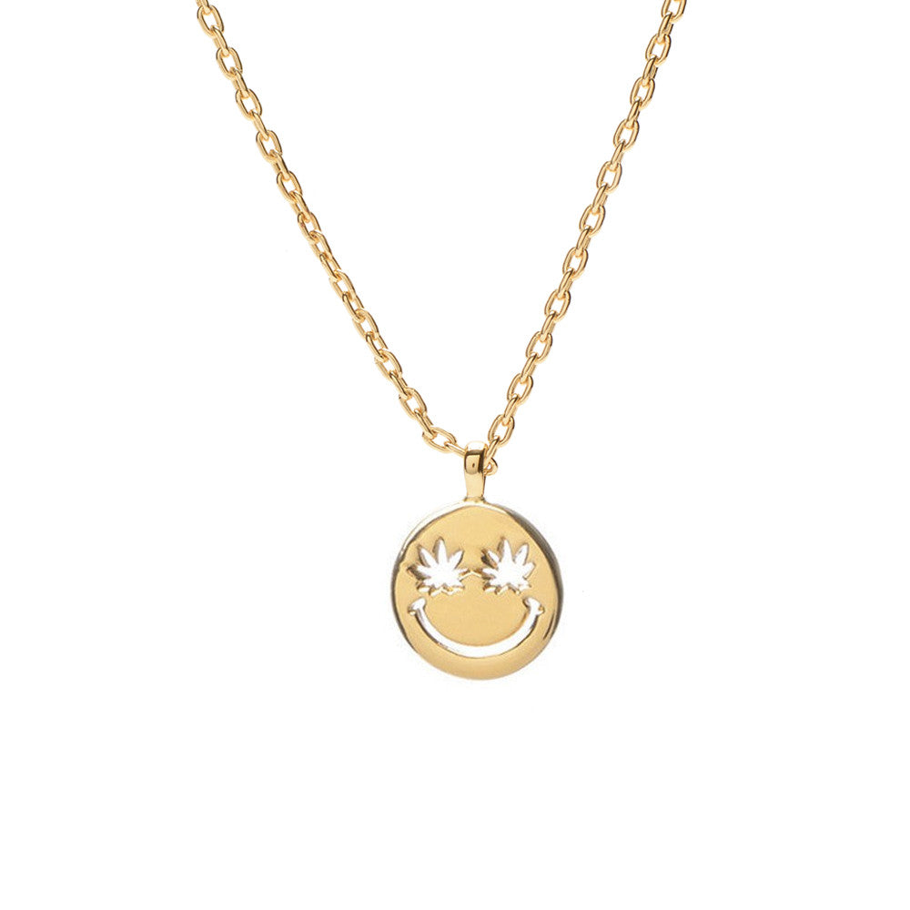 Happy Eyes Necklace - Bing Bang Jewelry NYC