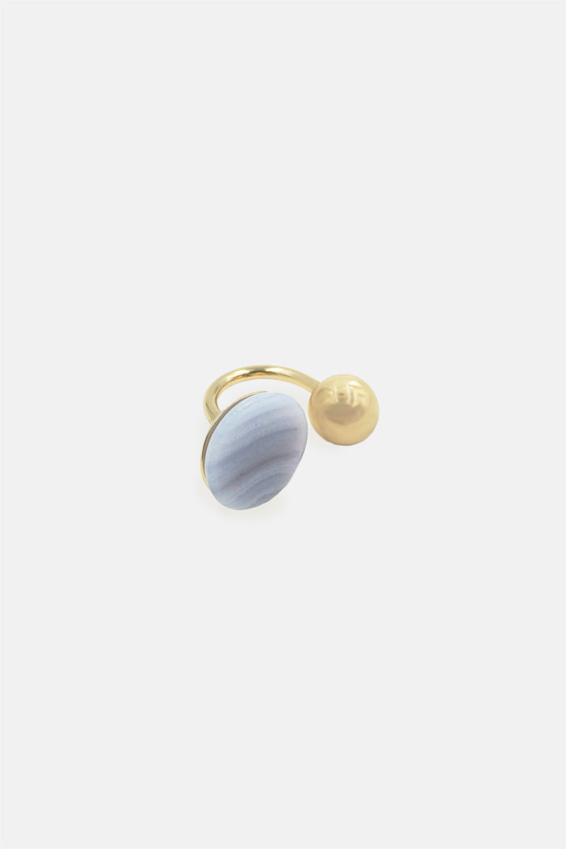 Hemisphere Duet Ring - Bing Bang Jewelry NYC