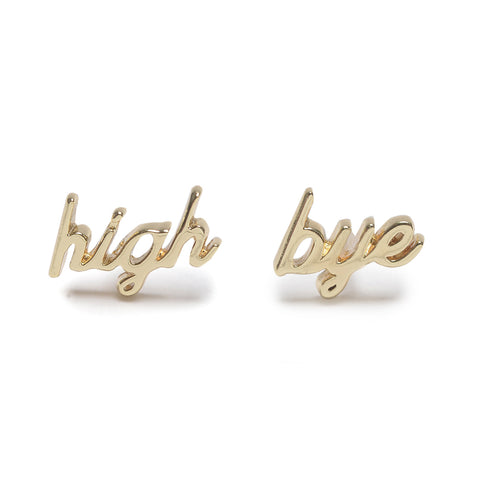 High / Bye Studs - Bing Bang Jewelry NYC