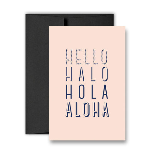 ALOHA - Greeting Card