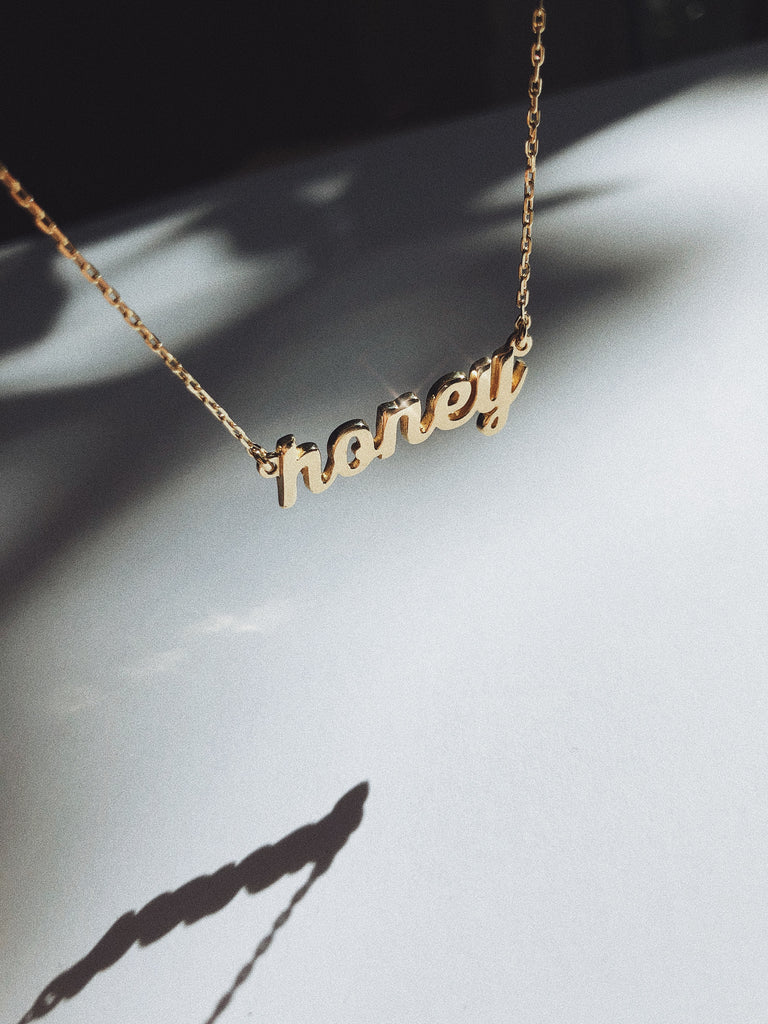Honey Necklace - Bing Bang Jewelry NYC